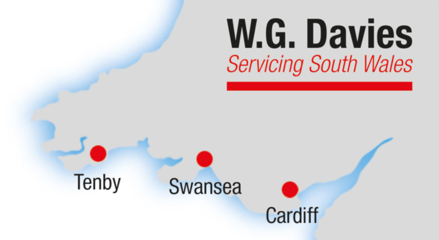 WG Davies Locations